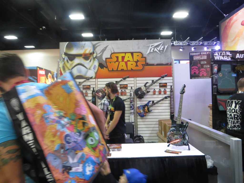 Star Wars Guitars at Comicon 2014