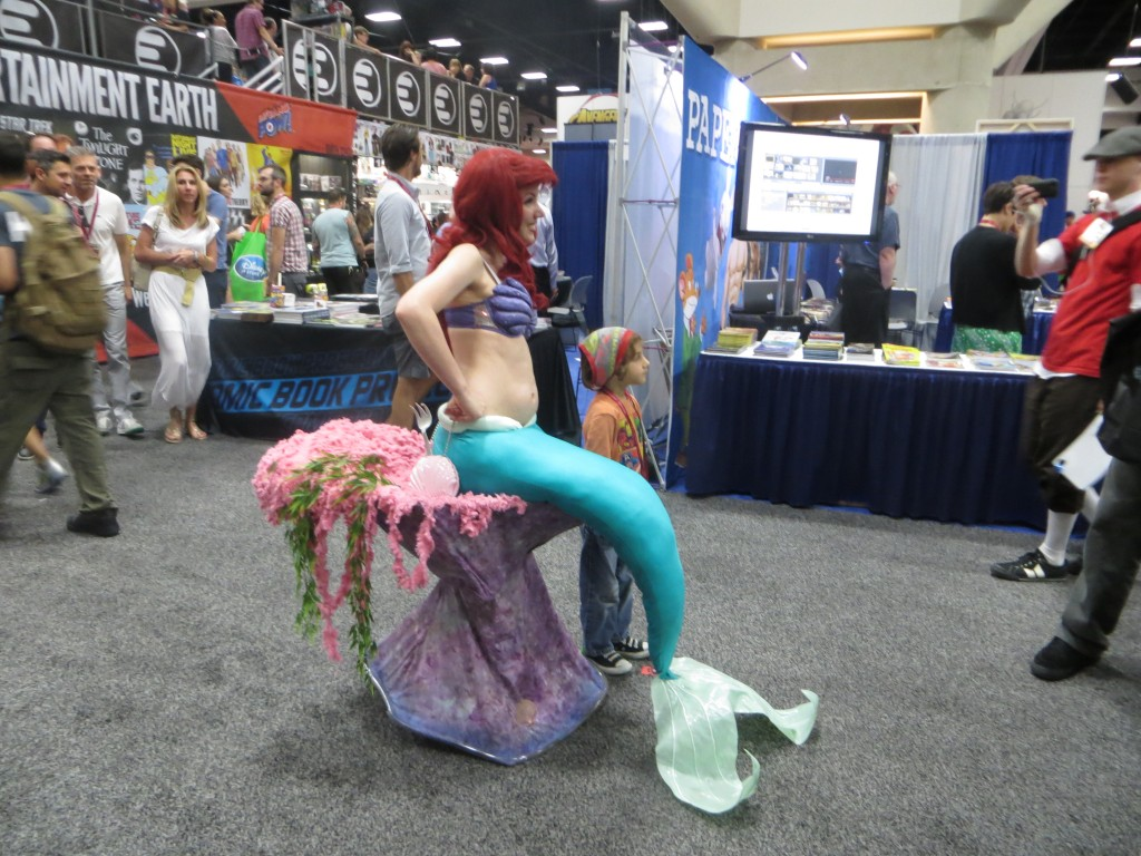 Photo of Ariel the Little Mermaid at Comicon 2014
