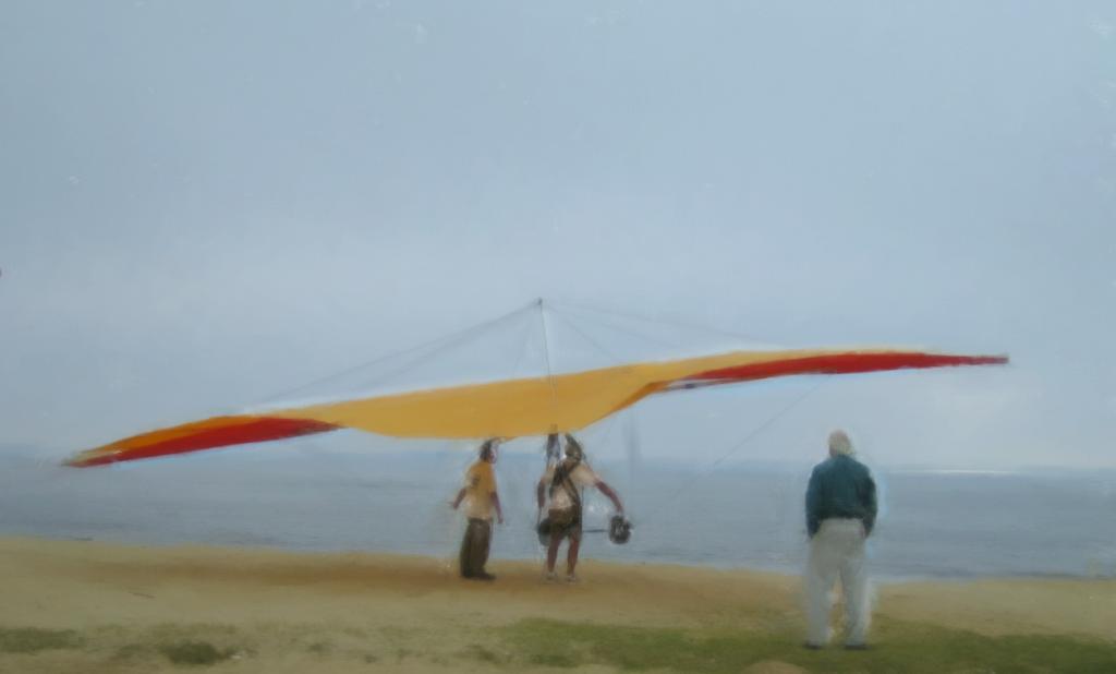hang glider-el segundo
